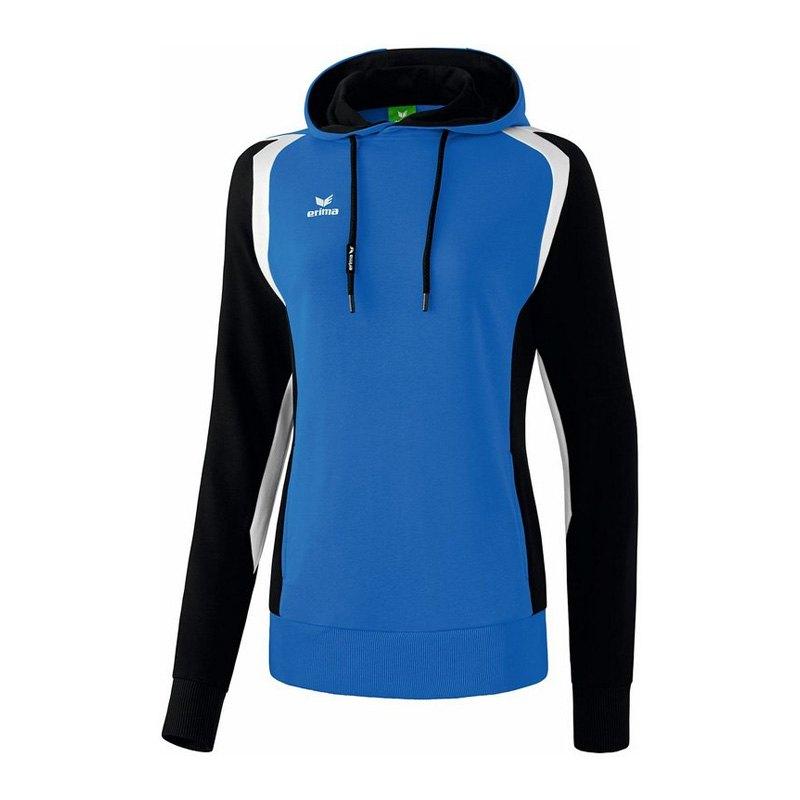 Erima Razor 2.0 Kapuzensweatshirt Damen Blau - blau