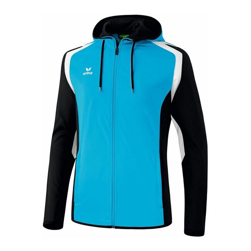 Erima Razor 2.0 Trainingsjacke Hellblau Schwarz - blau