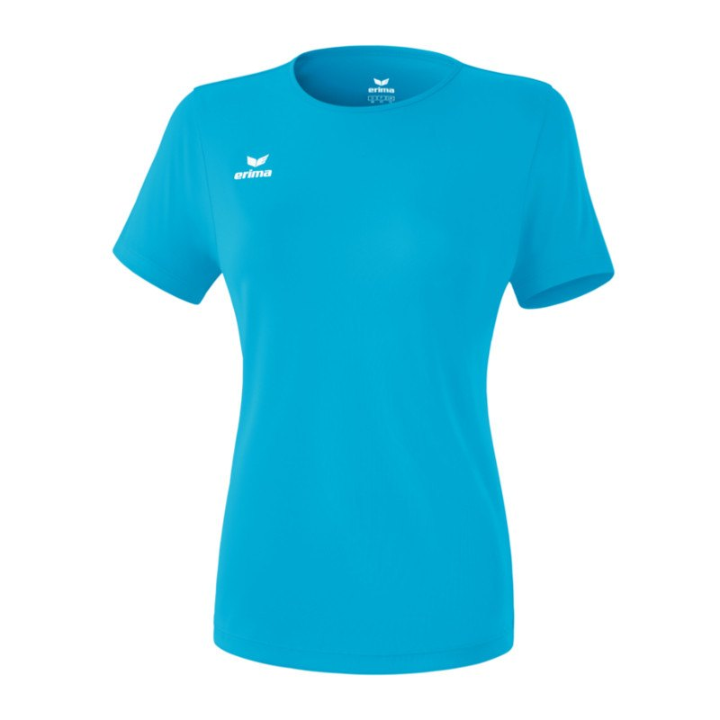 Erima Teamsport T-Shirt Function Damen Hellblau - blau