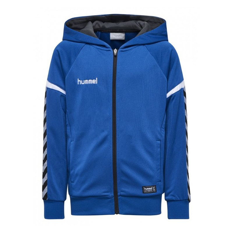 Hummel Authentic Charge Kapuzenjacke Blau F7045 - blau