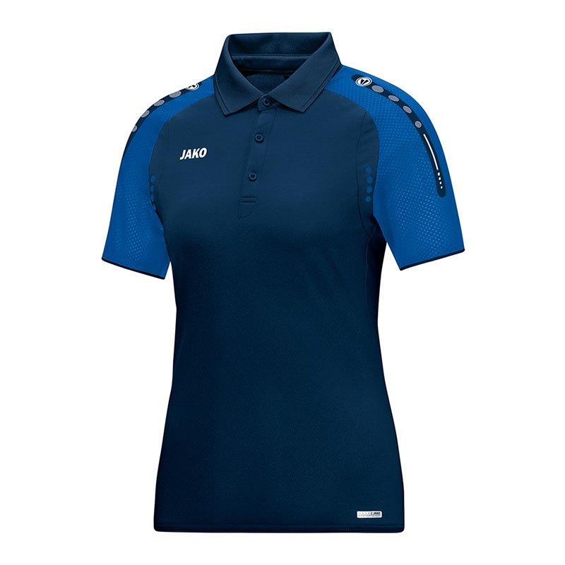Jako Champ Poloshirt Damen Blau F49 - blau