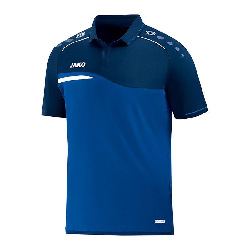 Jako Competition 2.0 Poloshirt Kids Blau F49 - blau