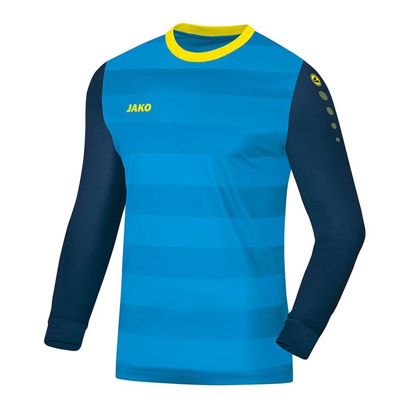 Jako Leeds Torwarttrikot Blau Gelb F89 - blau