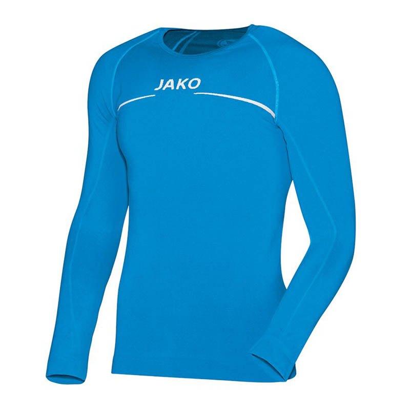 Jako Longsleeve Comfort Shirt Kids Blau F89 - blau