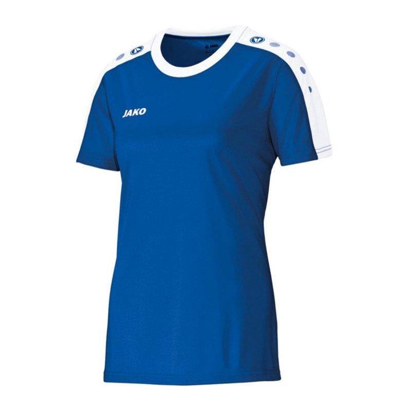 Jako Striker Trikot kurzarm Damen Blau F04 - blau