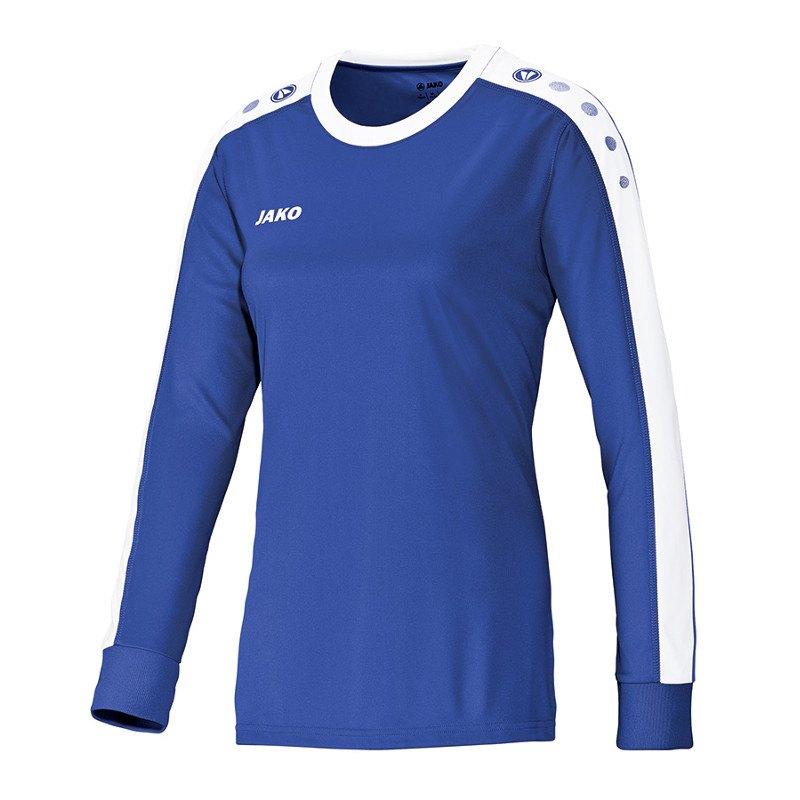 Jako Striker Trikot langarm Damen Blau F04 - blau