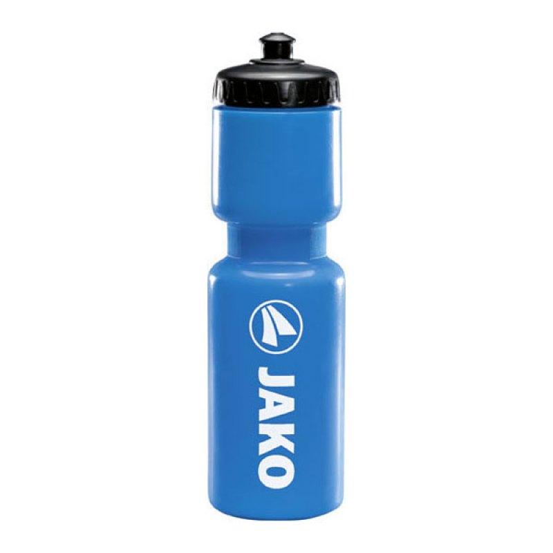 Jako Trinkflasche Blau Weiss Schwarz F89 - blau