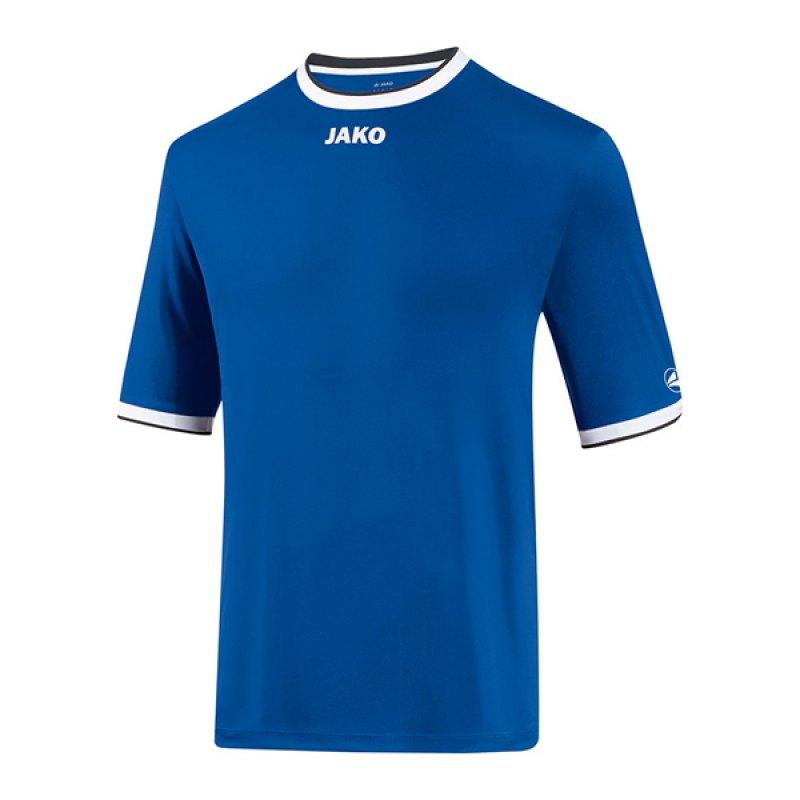 Jako United Trikot kurzarm Blau Weiss F04 - blau