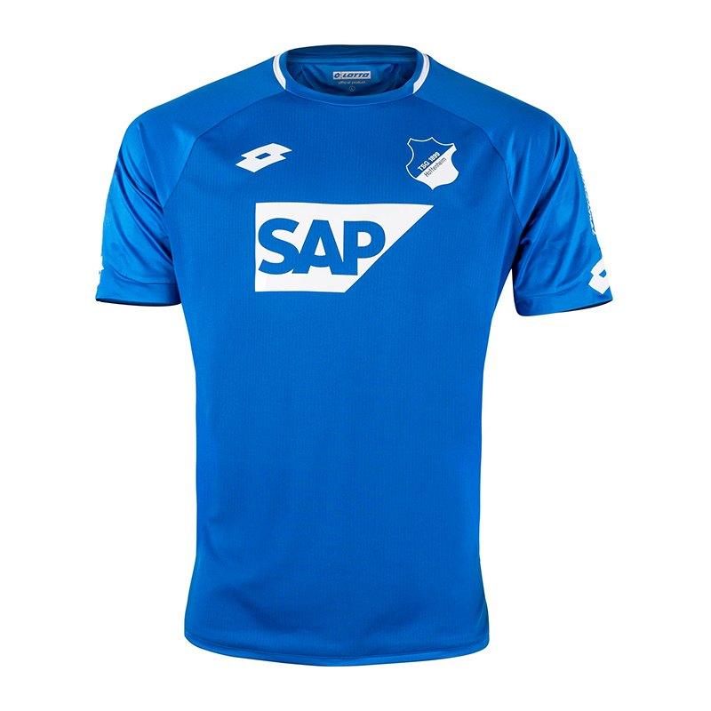 Lotto TSG 1899 Hoffenheim Trikot Home 2018/2019 Blau - blau