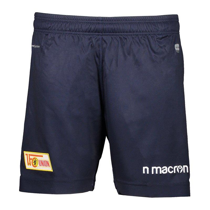 Macron 1. FC Union Berlin Short 3rd 2018/2019 Blau - blau