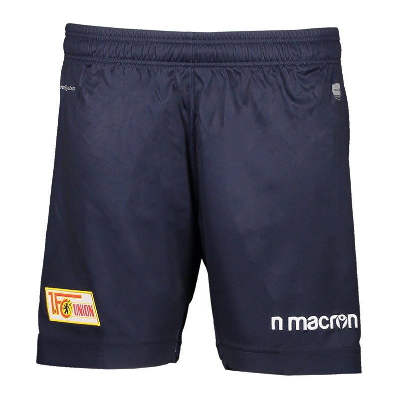Macron 1. FC Union Berlin Short 3rd Kids 2018/2019 Blau - blau