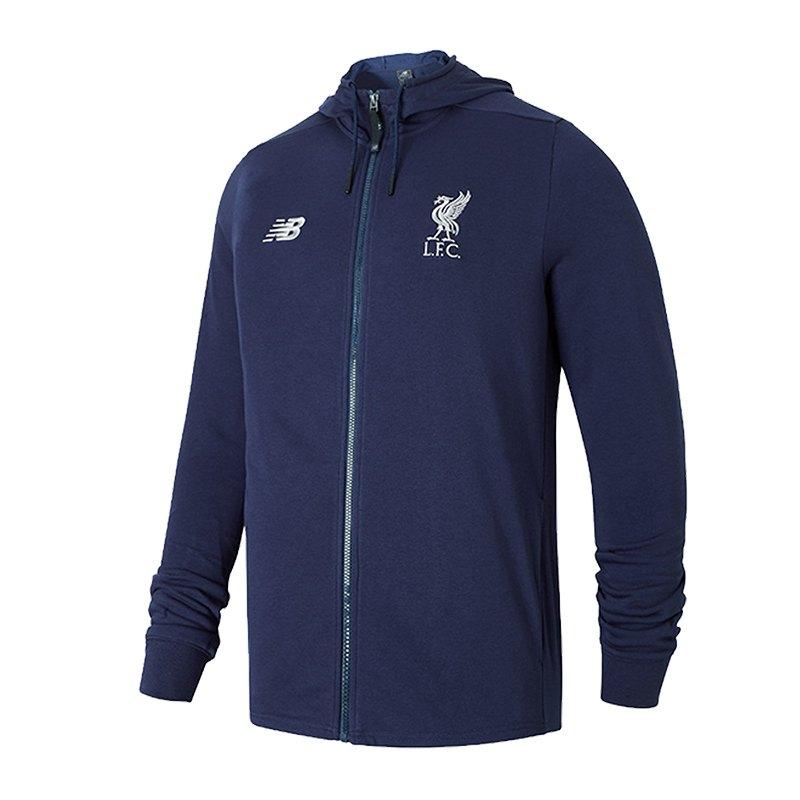 New Balance FC Liverpool Sweatshirt Blau F10 - blau