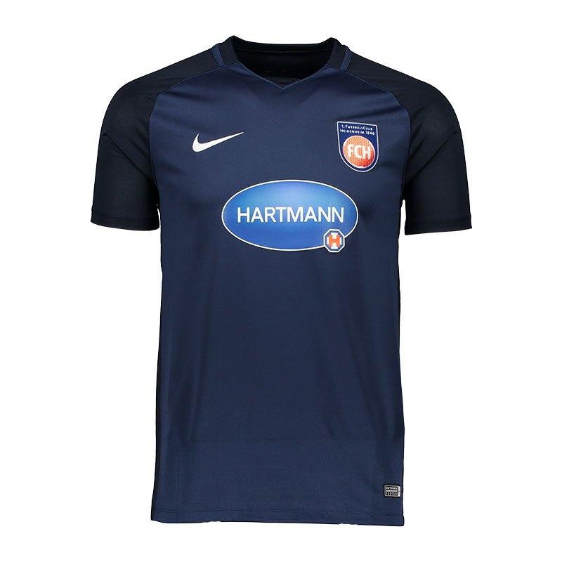 Nike 1. FC Heidenheim Trikot Away Kids 17/18 F410 - blau