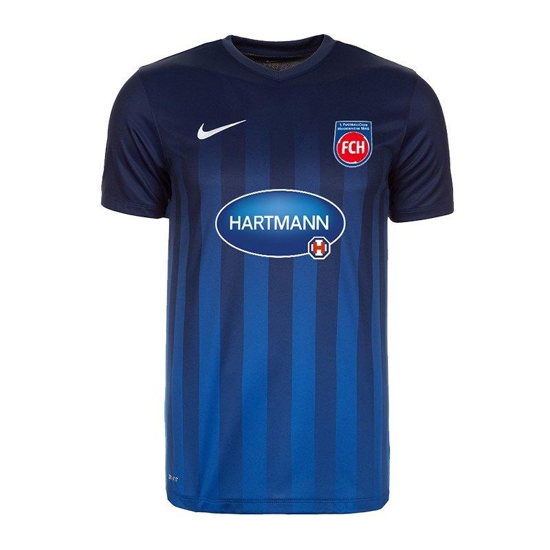 Nike 1. FC Heidenheim Trikot Home Kids 16/17 F410 - blau