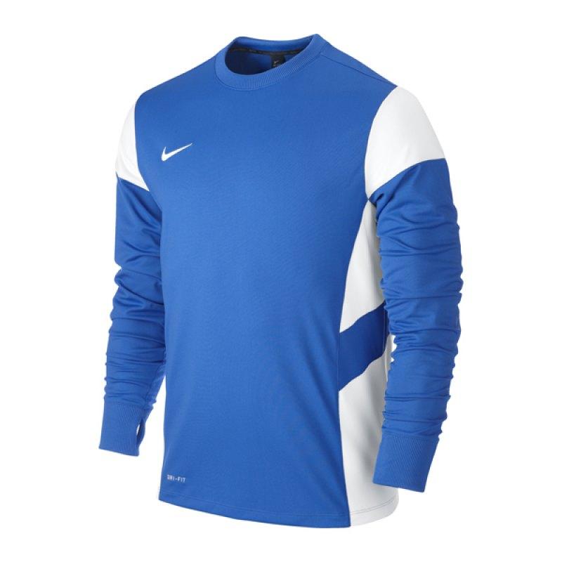 Nike Academy 14 Sweatshirt Longsleeve Blau F463 - blau