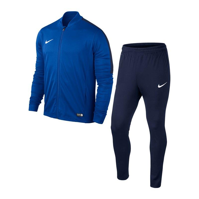 Nike Academy 16 Knit Trainingsanzug 2 Kids F463 - blau