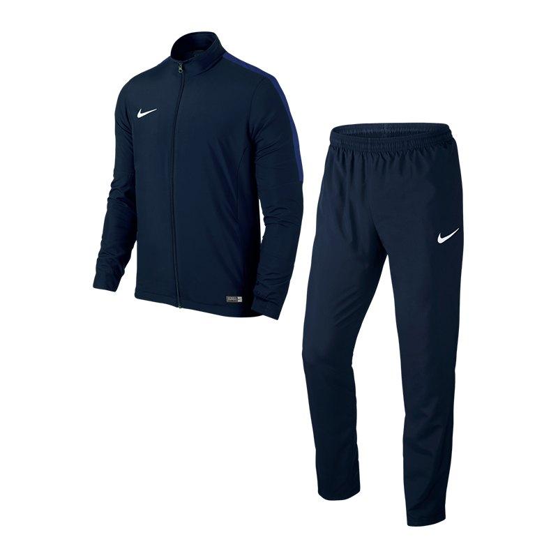 Nike Academy 16 Woven Trainingsanzug 2 Blau F451 - blau