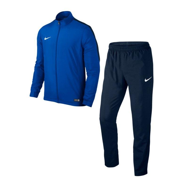 Nike Academy 16 Woven Trainingsanzug 2 Kids F463 - blau