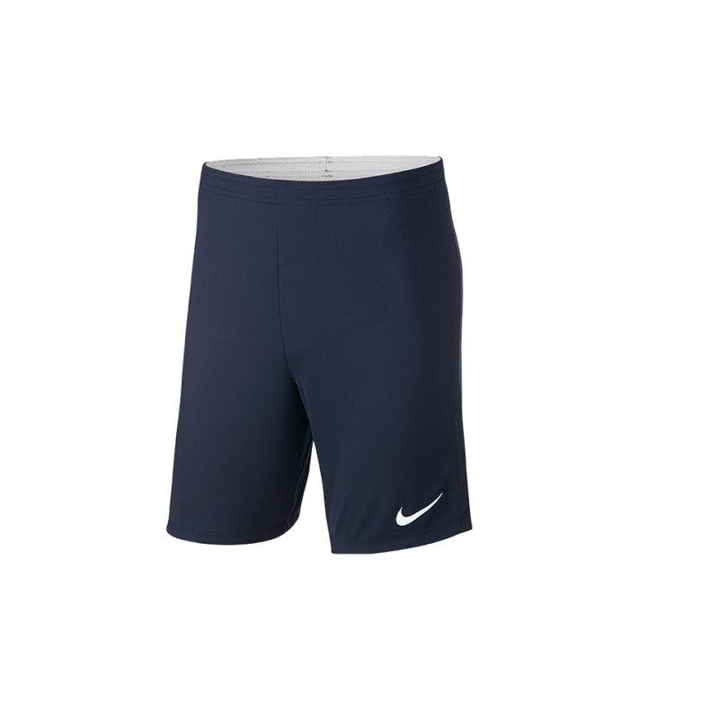 Nike Academy 18 Knit Short Kids Blau F451 - blau
