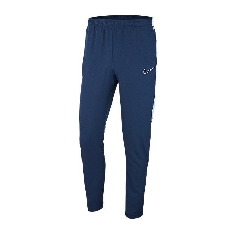 Nike Academy 19 Pant Trainingshose Blau F451 - blau