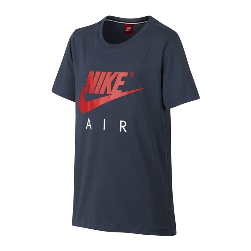 nike air tee t shirt kids blau f471 shortsleeve. Black Bedroom Furniture Sets. Home Design Ideas