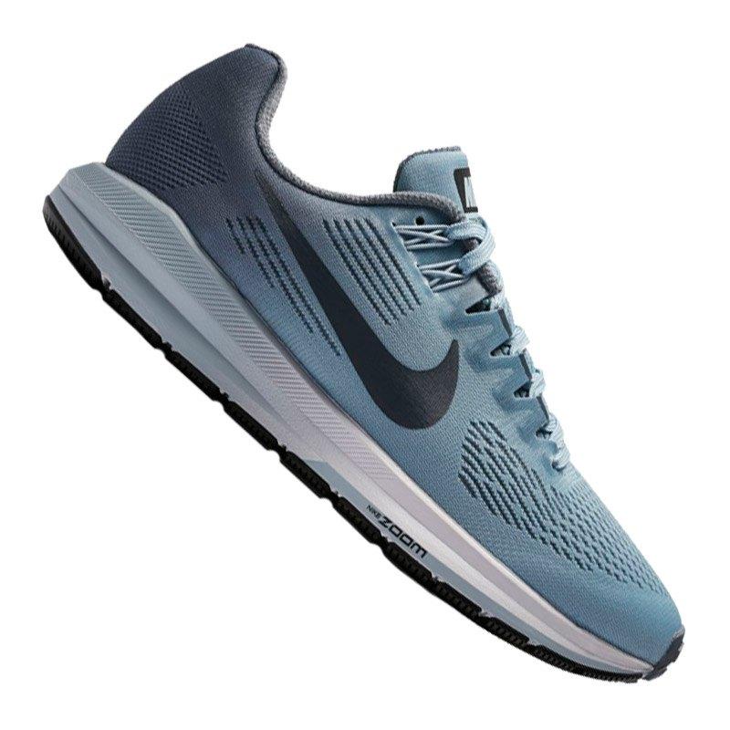 Nike Air Zoom Structure 21 Running Damen Blau F400 - blau