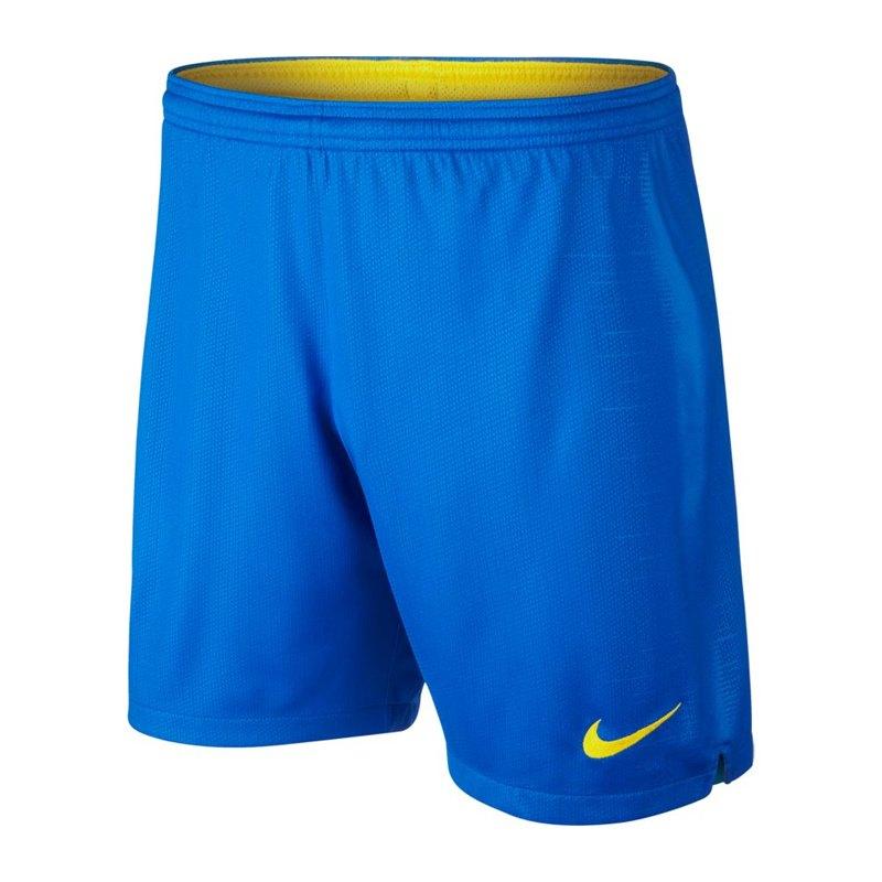 Nike Brasilien Short Home WM 2018 Blau F453 - blau