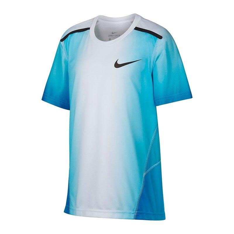 Nike Breath Training Top T-Shirt Kids Blau F482 - blau