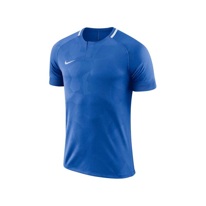 Nike Challenge II Trikot kurzarm Blau F463 - blau