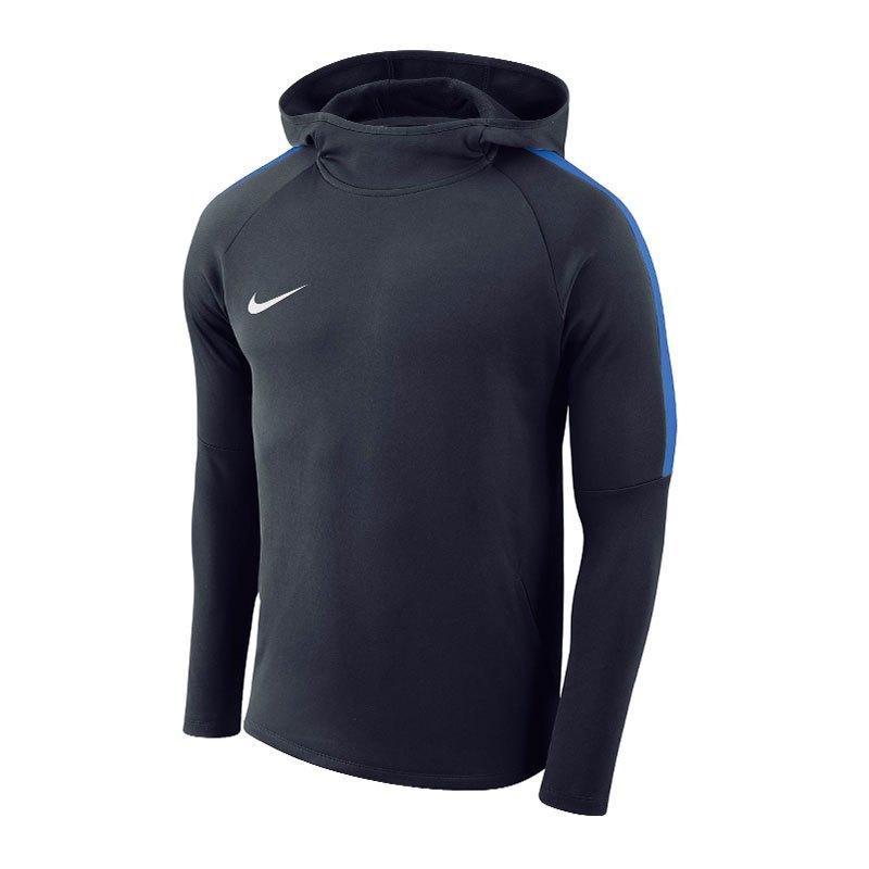 Nike Dry Academy 18 Kapuzensweatshirt Kids F451 - blau