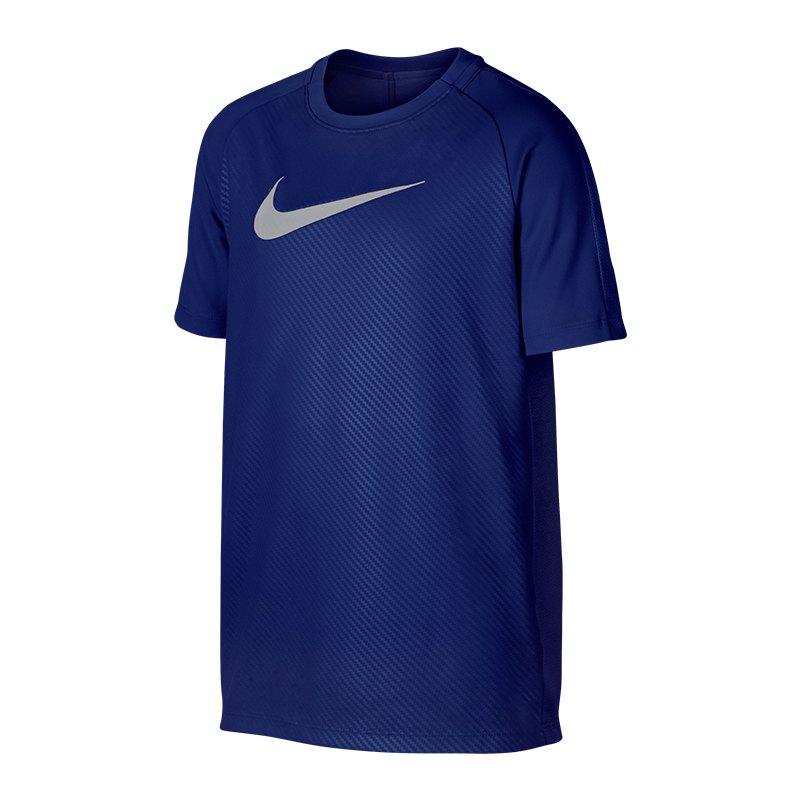 Nike Dry Academy GX2 Tee T-Shirt Kids Blau F455 - blau