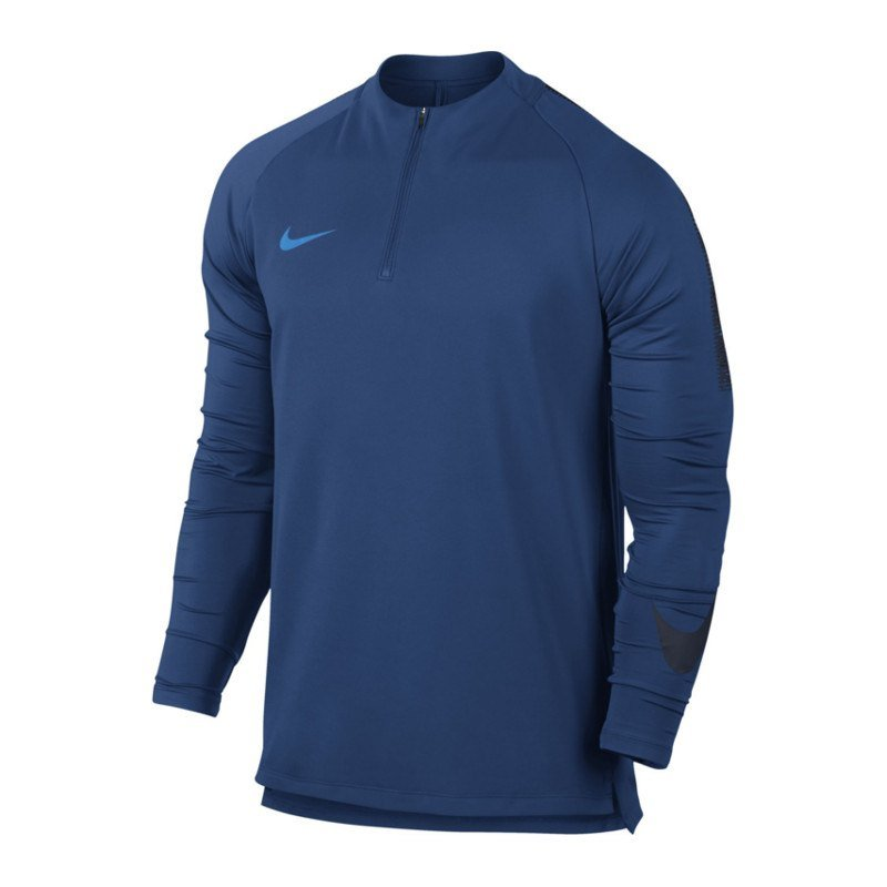 Nike Dry Football Drill Top 1/4 Zip Kids F431 - blau