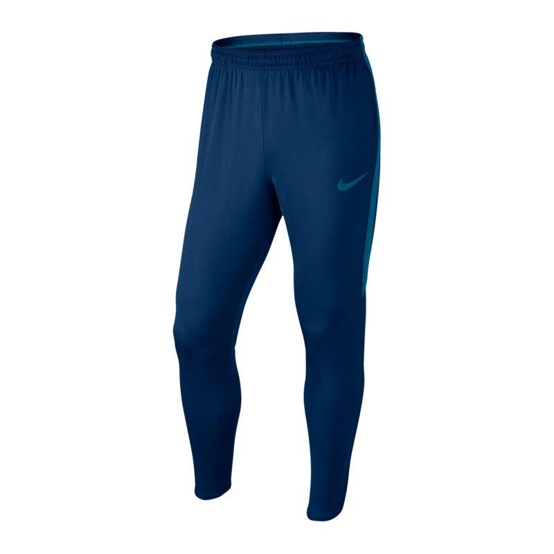 Nike Dry Football Pant Hose lang Blau F430 - blau
