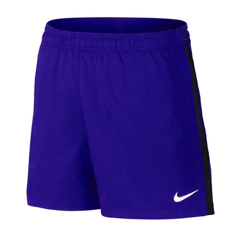 Nike Dry Football Short Hose kurz Damen Blau F453 - blau