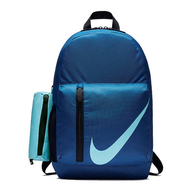 Nike Elemental Backpack Rucksack Kids Blau F431 - blau