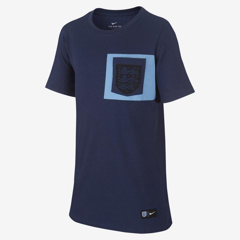 Nike England Tee Crest T-Shirt Kids Blau F410 - blau