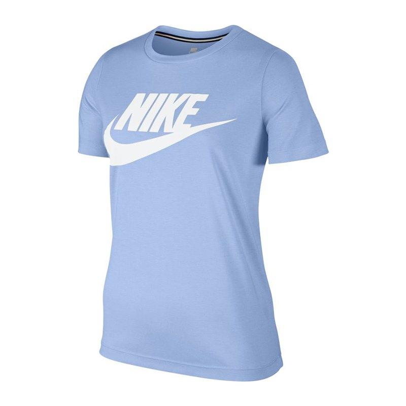 nike shirt damen blau