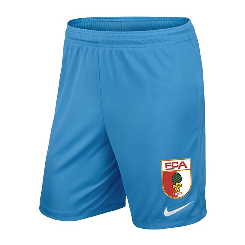 Nike FC Augsburg Torwartshort 2018/2019 Blau F412 - blau
