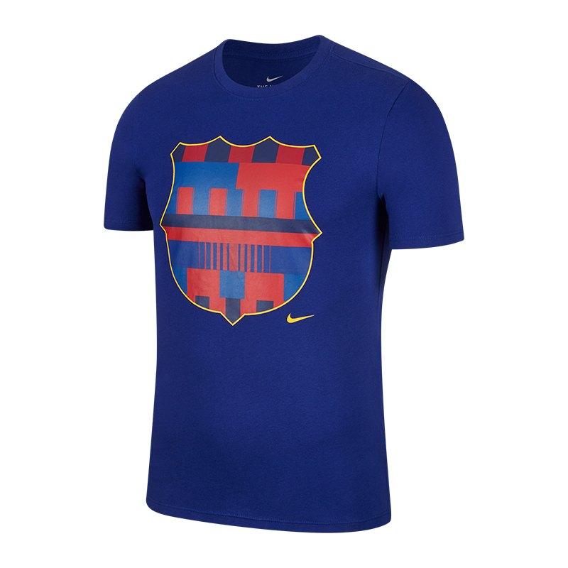Nike FC Barcelona 20 Years T-Shirt Kids Blau F455 - blau