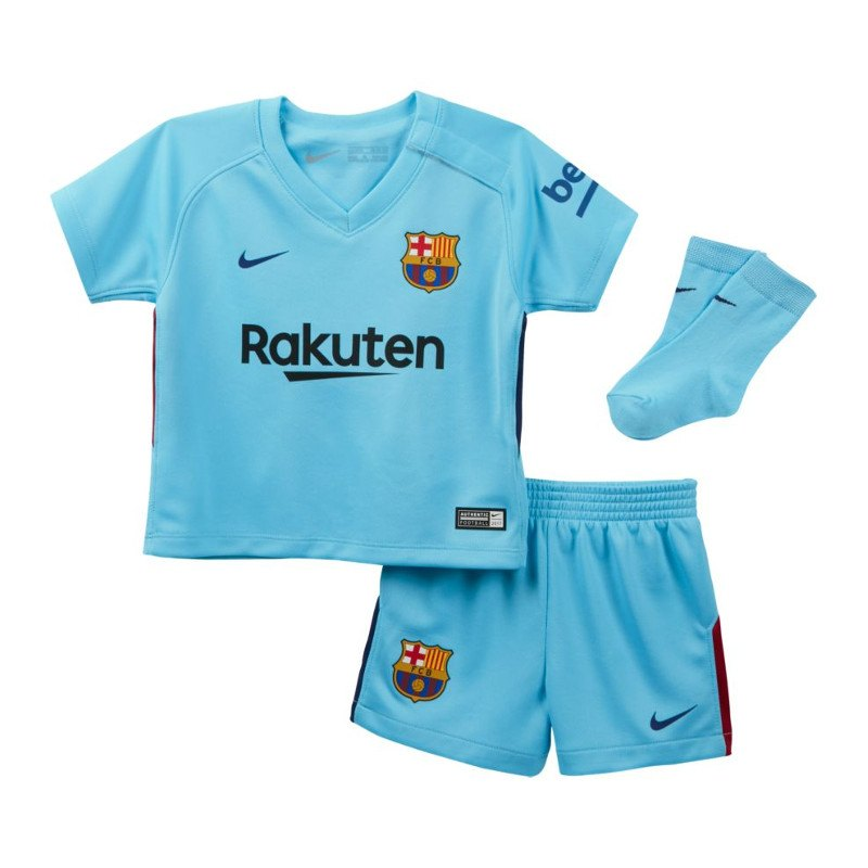 Nike FC Barcelona Babykit Away 2017/2018 F484 - blau