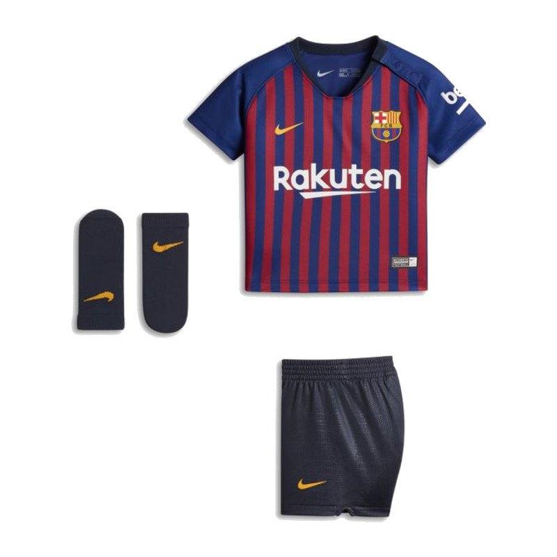 Nike FC Barcelona Babykit Home 2018/2019 Blau F456 - blau