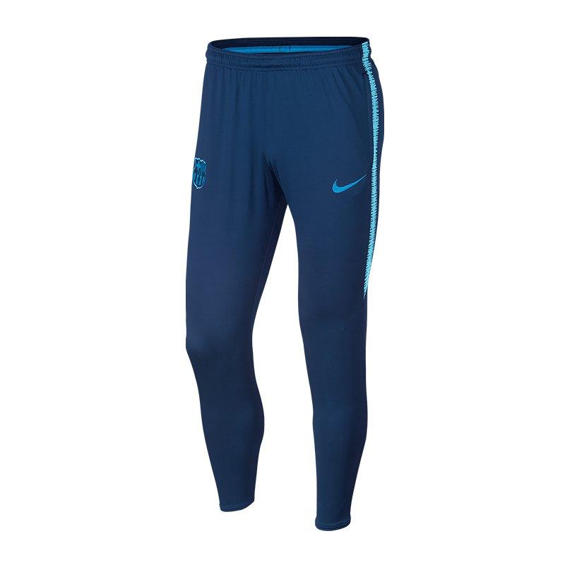 Nike FC Barcelona Dry Squad Pant Blau F423 - blau