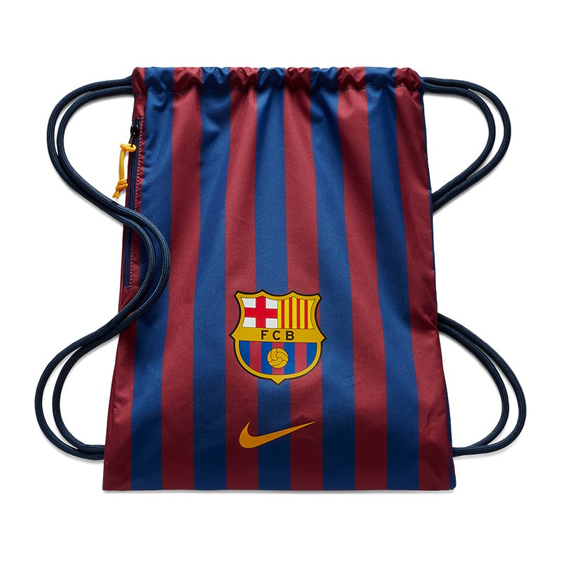 Nike FC Barcelona Gymsack Sportbeutel Blau F455 - blau