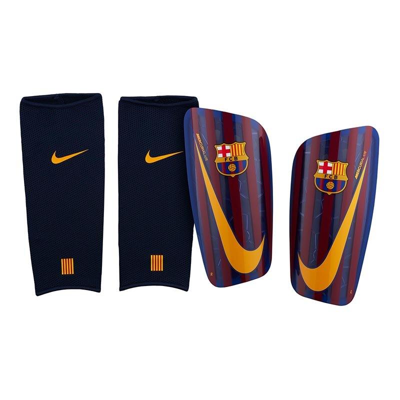 Nike FC Barcelona Mercurial Schienbeinschoner F455 - blau