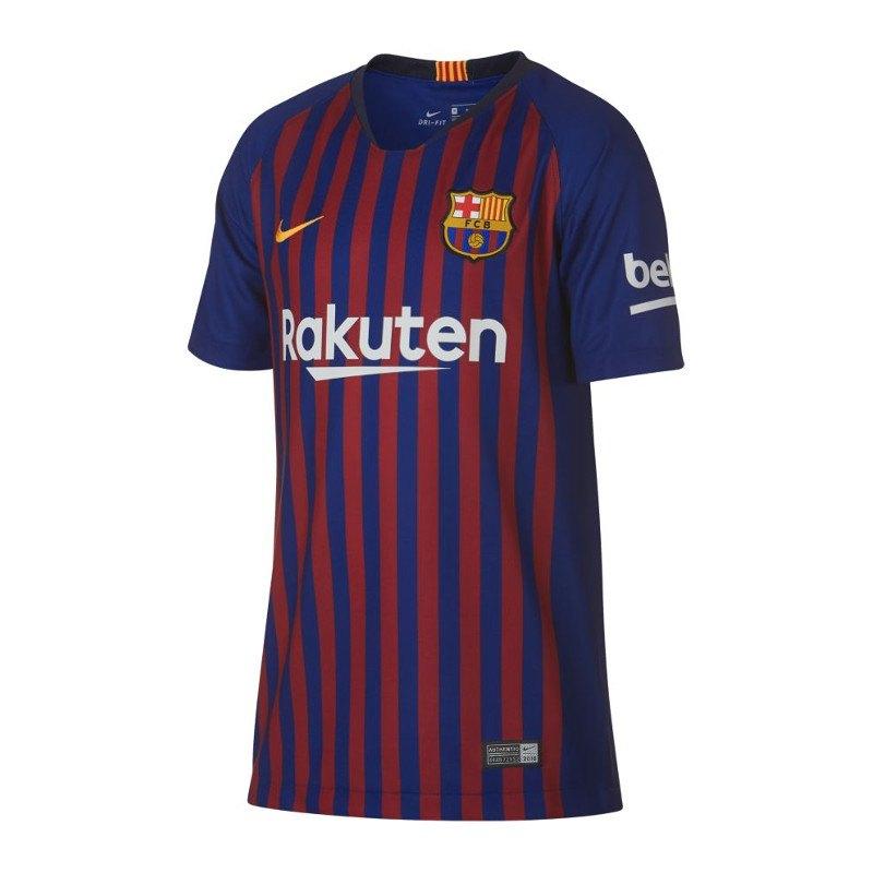 Nike FC Barcelona Trikot Home 2018/2019 Kids F456 - blau