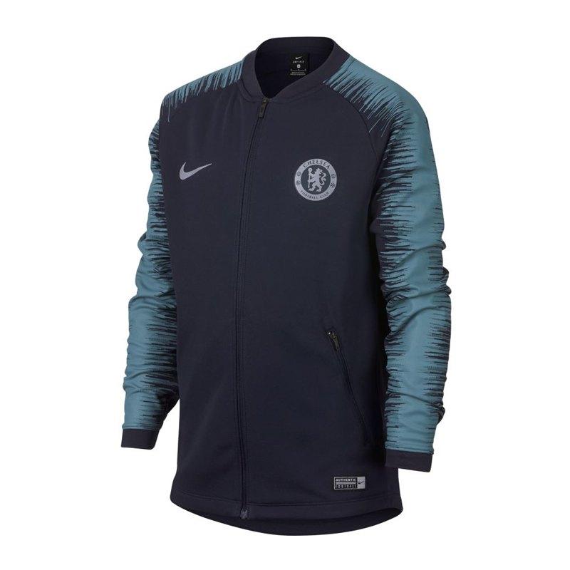 Nike FC Chelsea London Anthem Jacket Kids F455 - blau