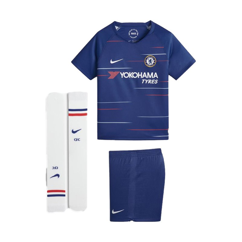 Nike FC Chelsea London Minikit Home 2018/2019 F496 - blau