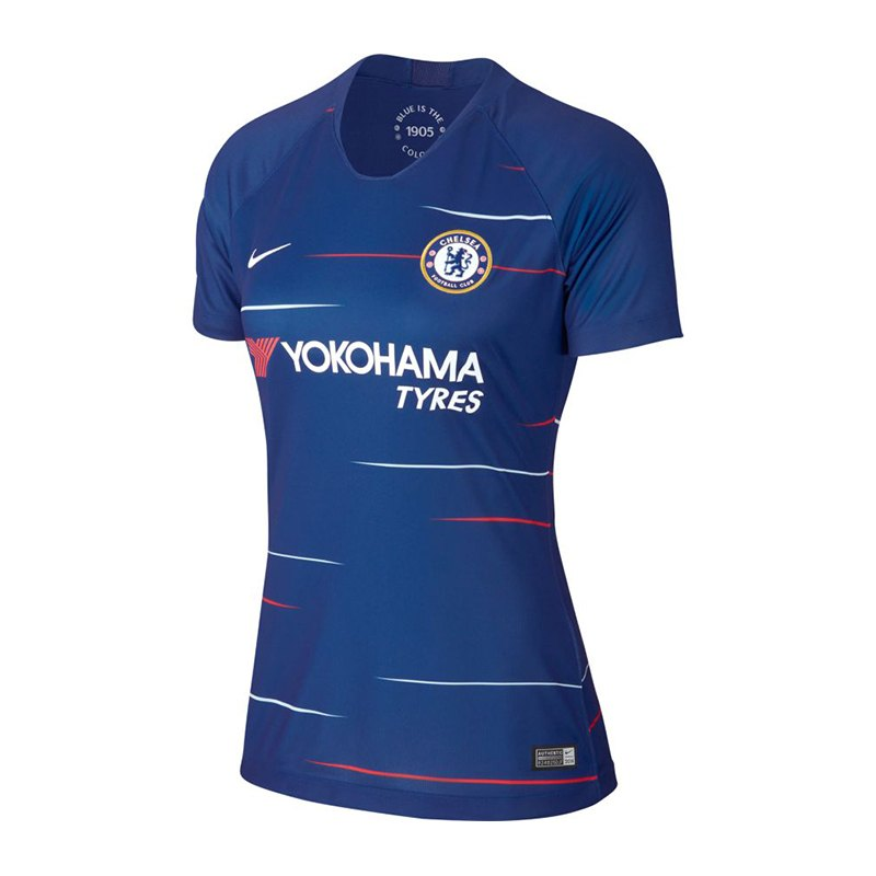 Nike FC Chelsea London Trikot H 18/19 Damen F496 - Blau
