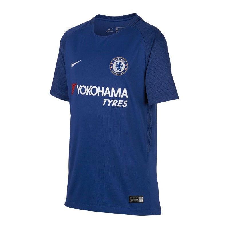 Nike FC Chelsea London Trikot Home 17/18 Kids F496 - blau