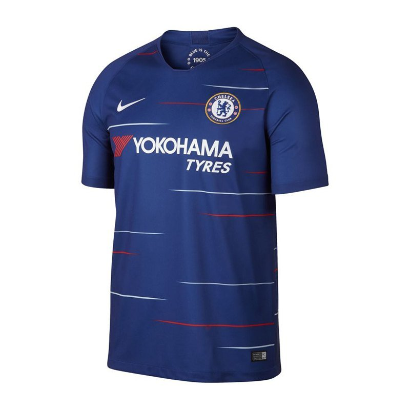 Nike FC Chelsea London Trikot Home 2018/2019 F496 - blau